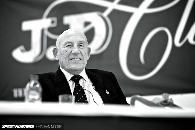 Breakfast with Sir Stirling Moss, held at JD Classics in Maldon, Essex