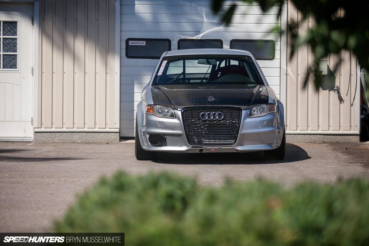 An Audi That HatesCorners