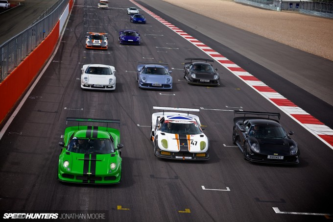 GoldTrack Open Pitlane driving day at Silverstone