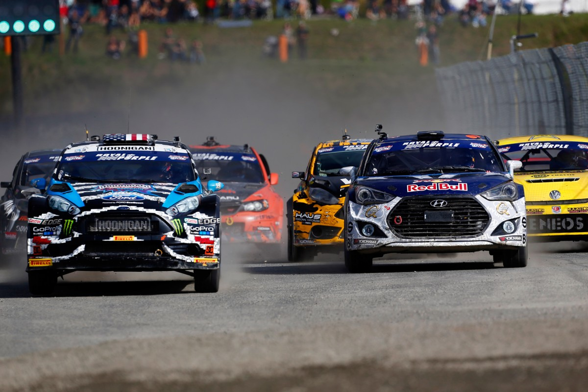 Red Bull Global Rallycross In The Raw
