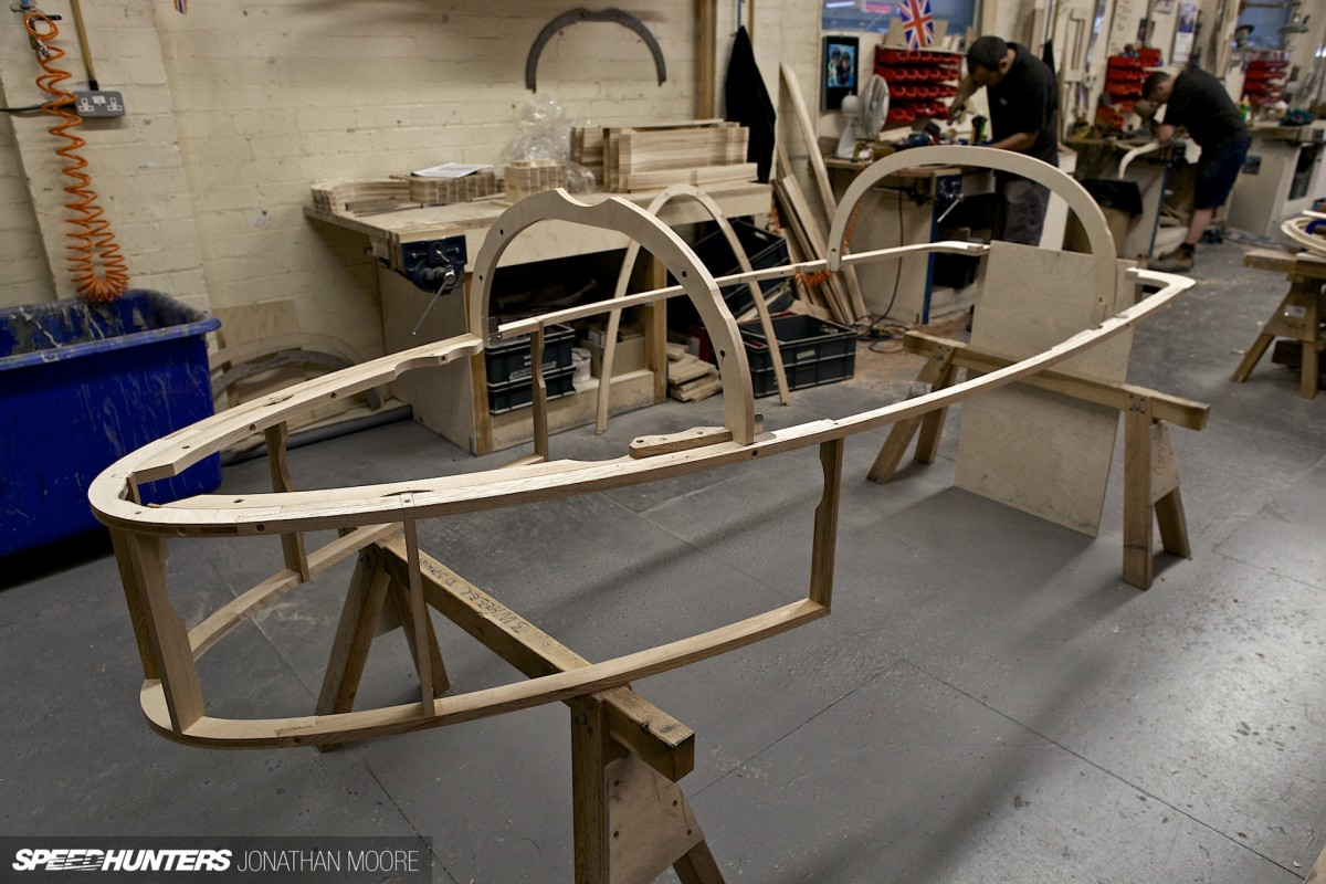 Making A Morgan If You Could You Wood Too  Speedhunters