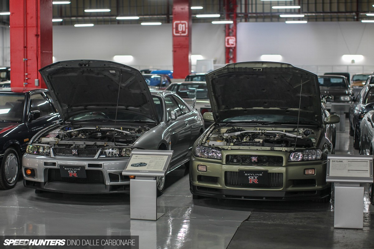 Nissan 39 s secret stash speedhunters for Garage nissan paris