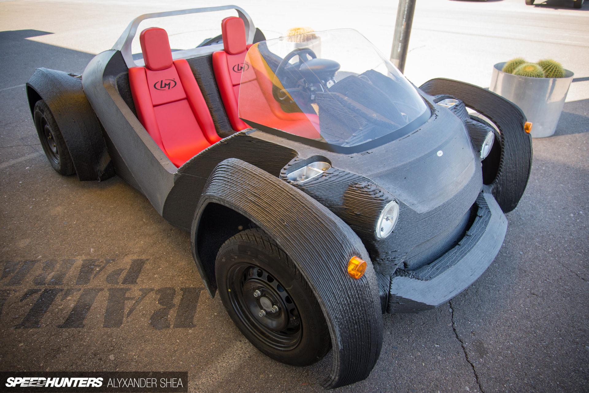 To the stratosphere beyond 3d printing the future of for Local motors 3d printed car