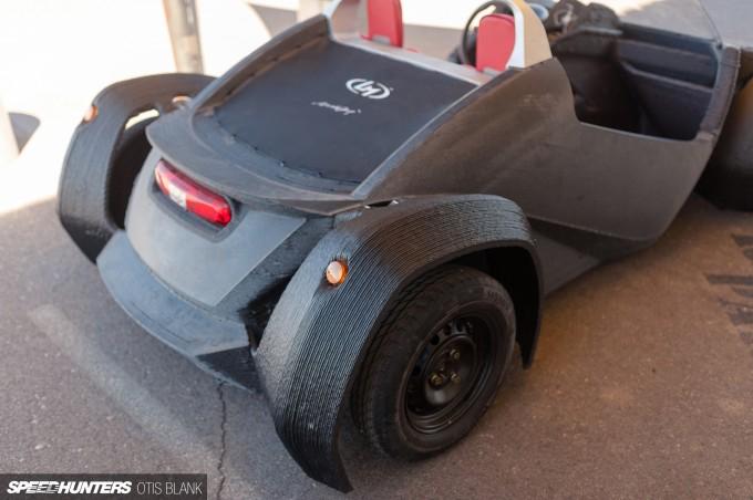 Local Motors Strati 3d Printed Car 2014 Otis Blank 010