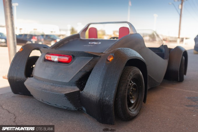 Local Motors Strati 3d Printed Car 2014 Otis Blank 036