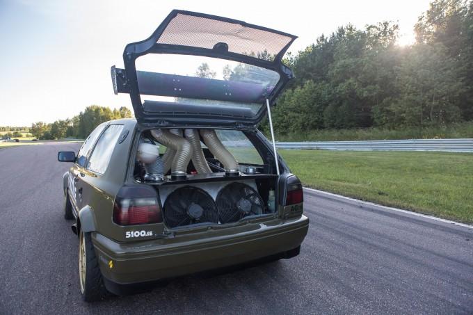 Golf VR6 Turbo Gatebill Mantorp-28