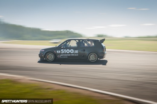 VR6 Turbo Golf Mk3 Gatebil-1