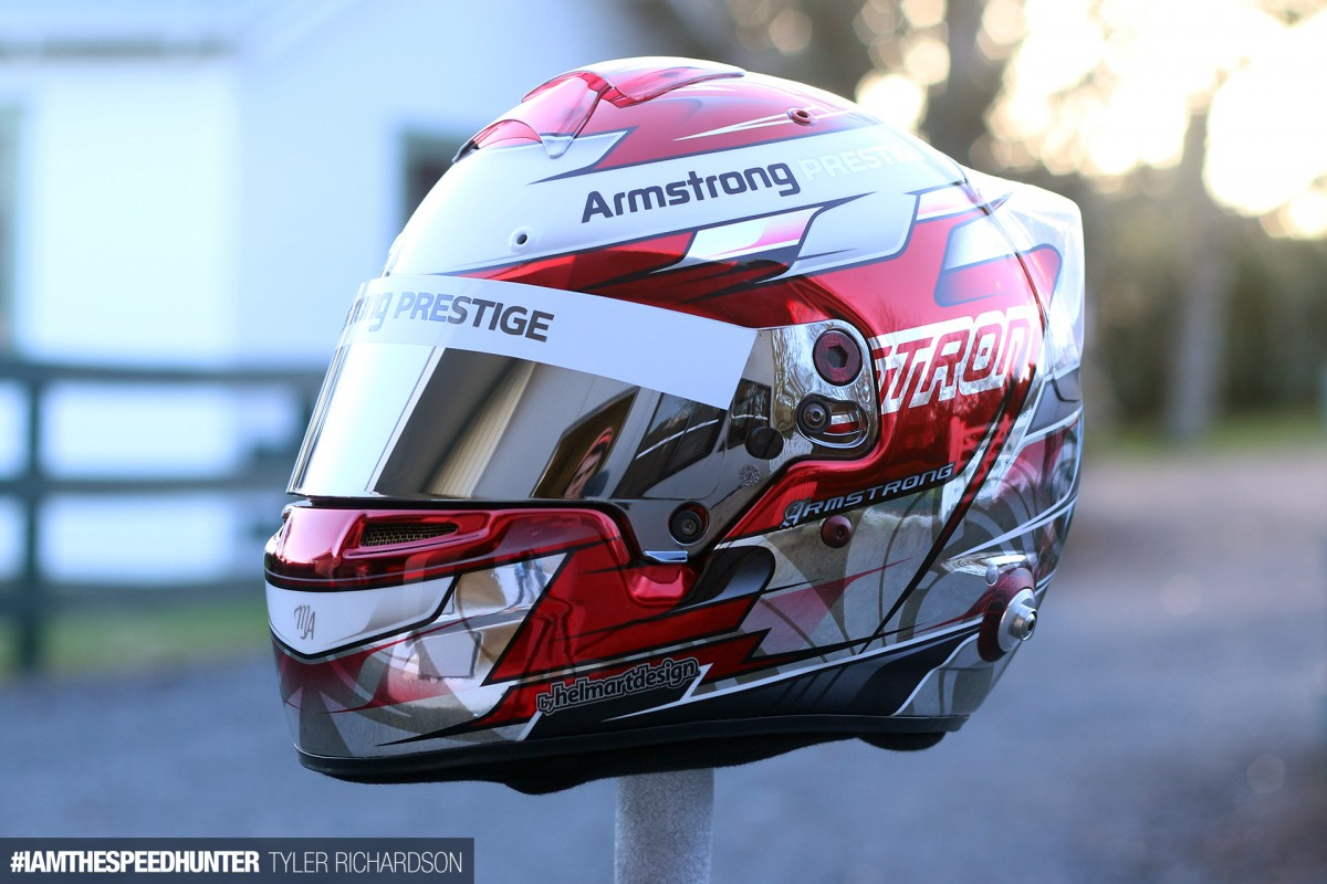 The High Art World Of Custom Helmet Design Speedhunters - Vinyl wrap for motorcycle helmets