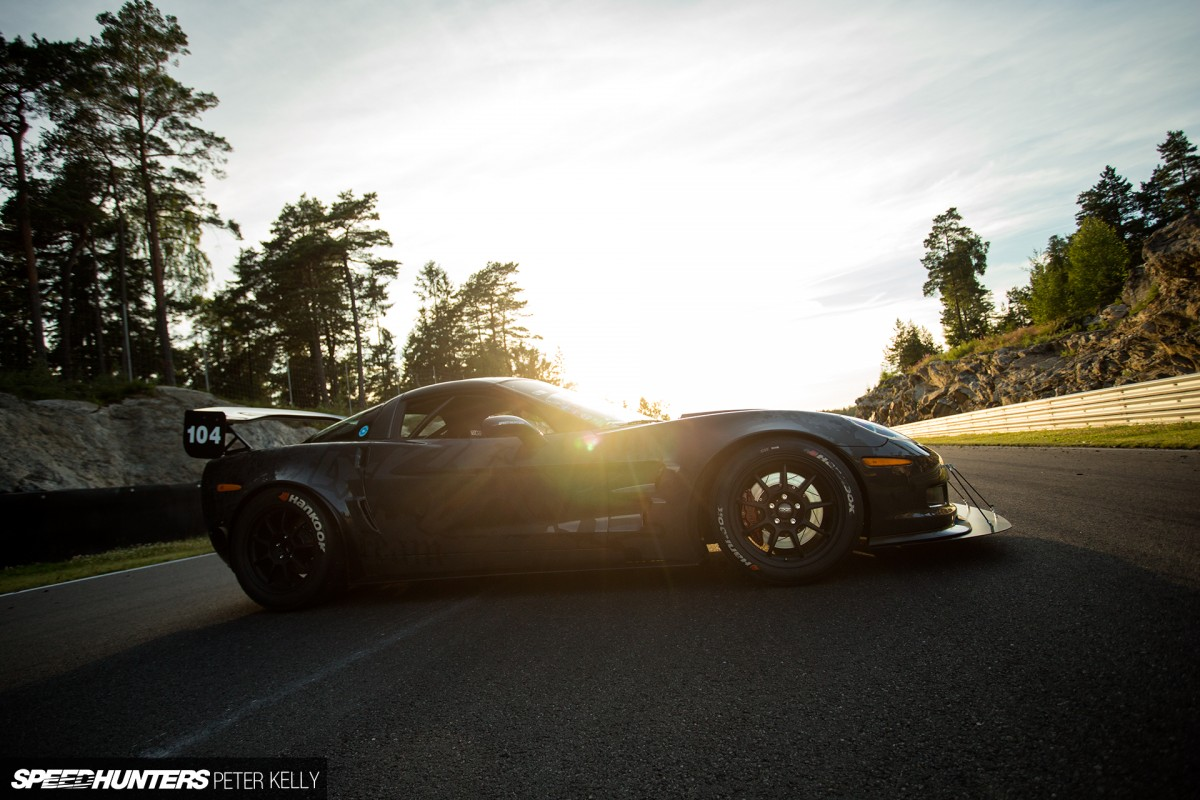 Swedish Muscle:</br> A 1,200hp Time Attack 'Vette