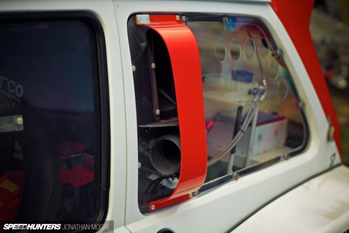 Andrew Cooper's Metro 6R4, prepared by John Price Racing