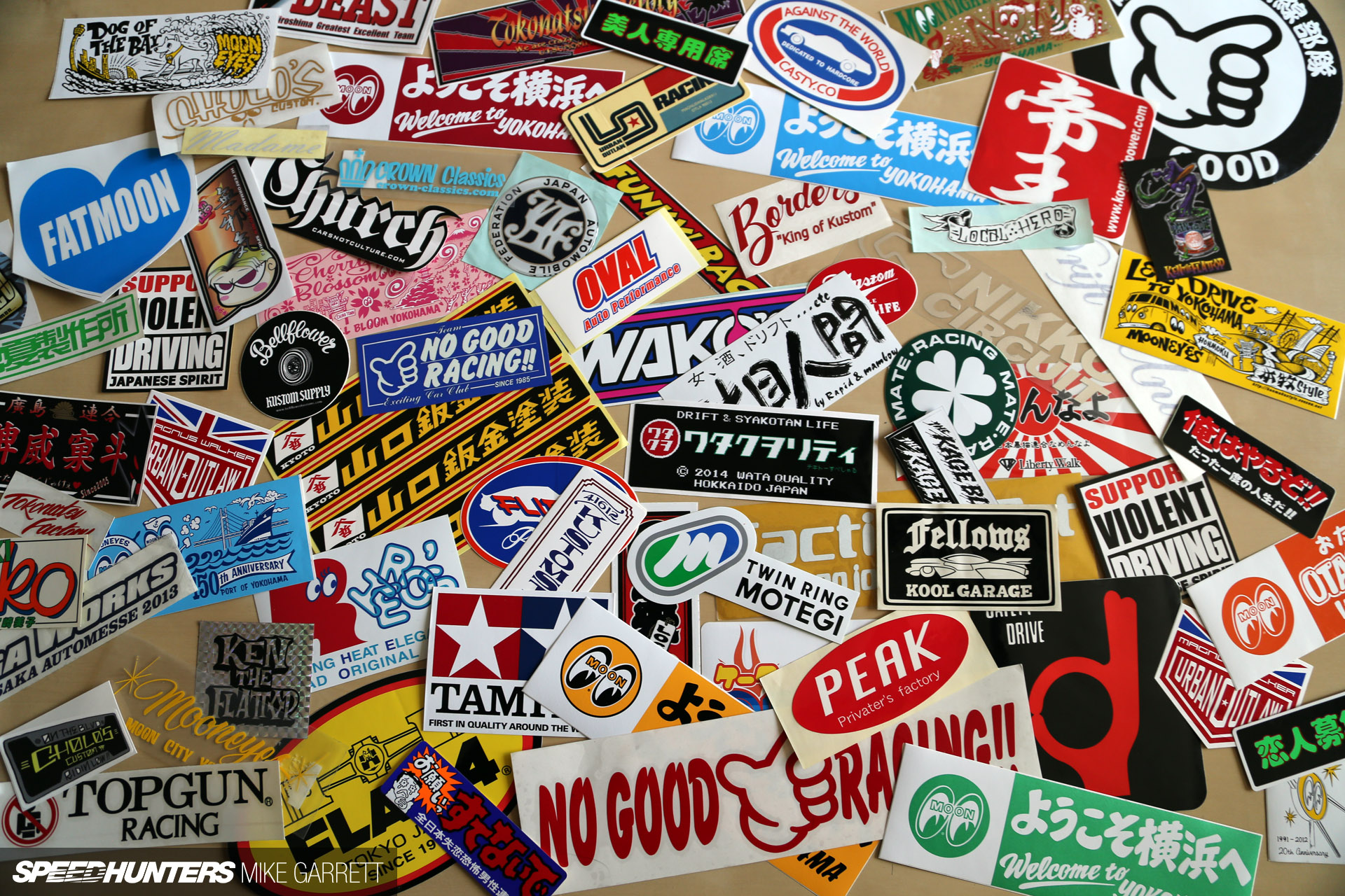 Why do we love stickers speedhunters for Auto collant mural