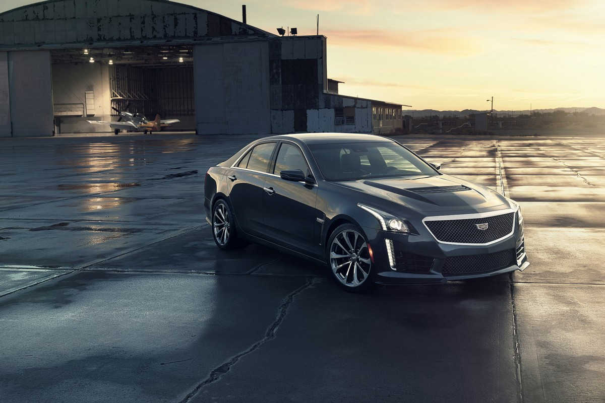 The New CTS V:u003c/bru003e A Corvette Z06 For The Family