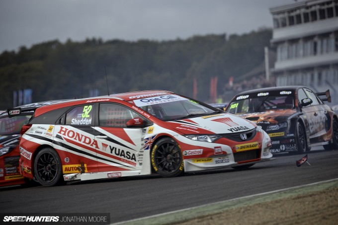 The finale of the 2014 British Touring Car Championship at Brands Hatch in Kent