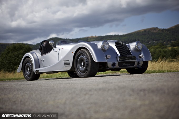 Photo shoot of the 2014 Morgan Plus 8 Centenary Speedster in and around the Malvern Hills