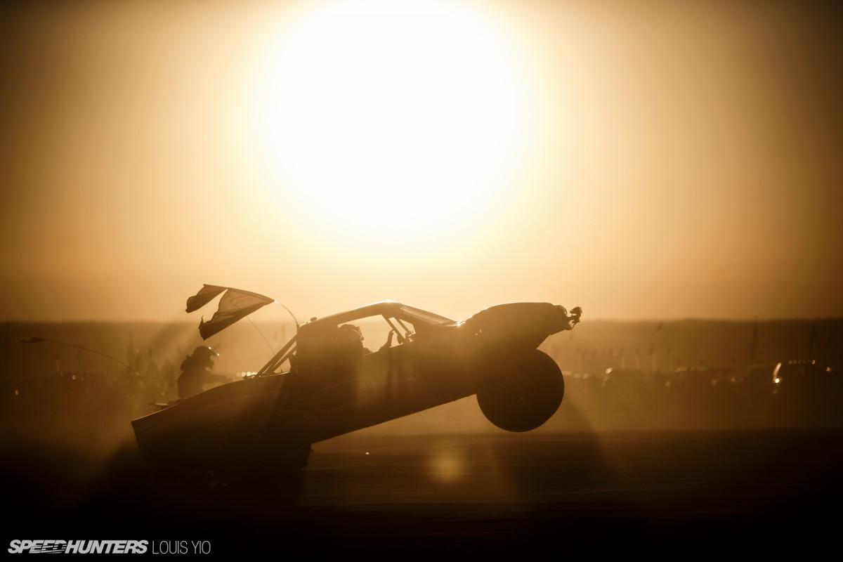 Drag Racing In The Imperial SandDunes