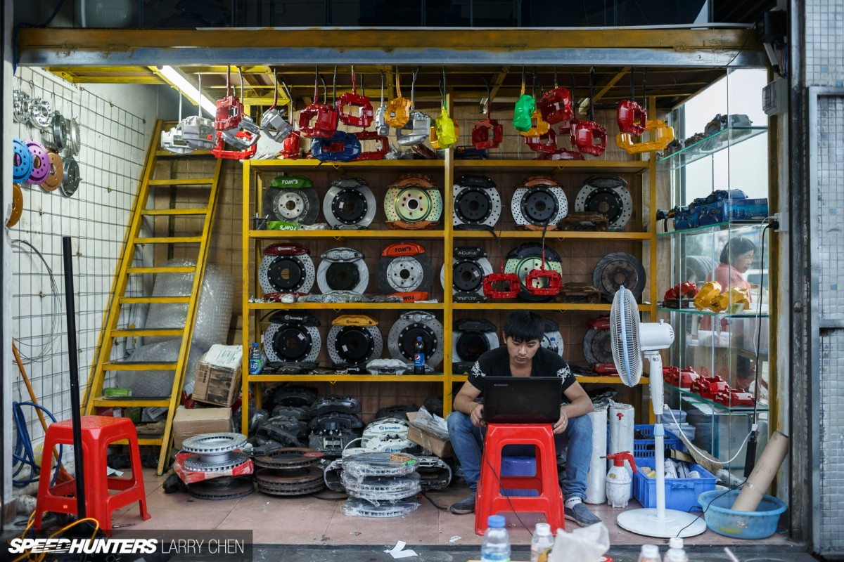 Parts Hunting In China