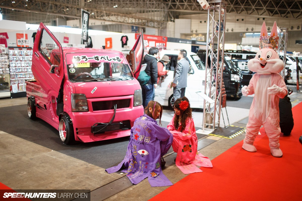The Weird & The Wonderful At</br> Tokyo Auto Salon 2015