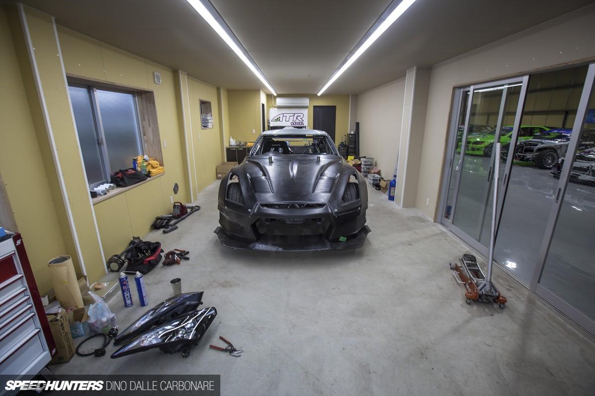 Daigo Saito&#8217;s New Formula Drift</br> GT-R In&nbsp;Detail