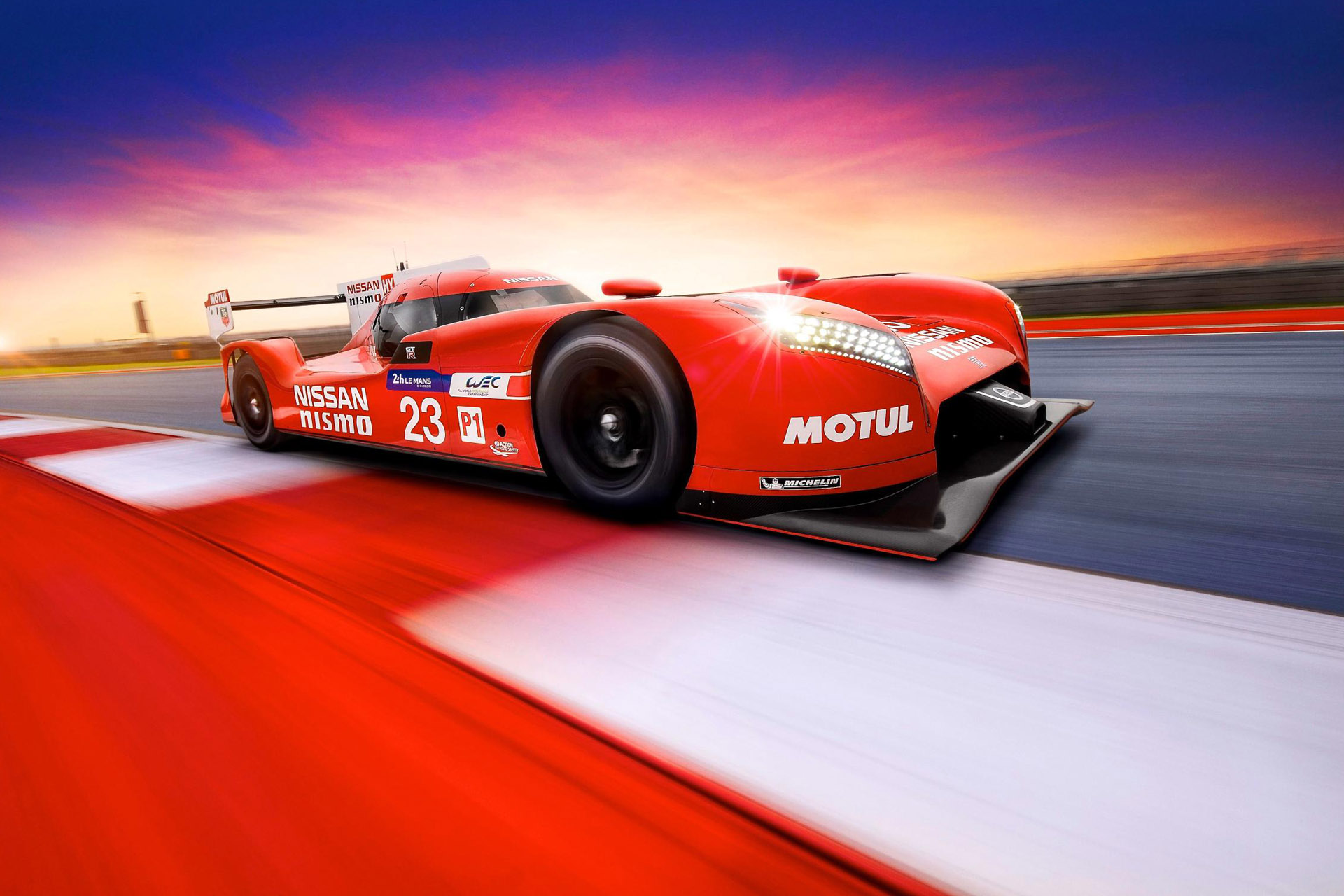 Front Drive At Le Mans Nissan S New Lmp1 Speedhunters