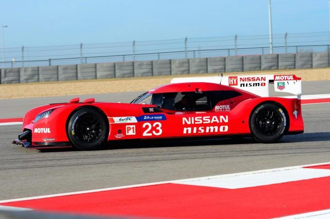 Nissan GT-R LM NISMO pre-season testing 11