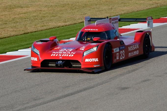 Nissan GT-R LM NISMO pre-season testing 5
