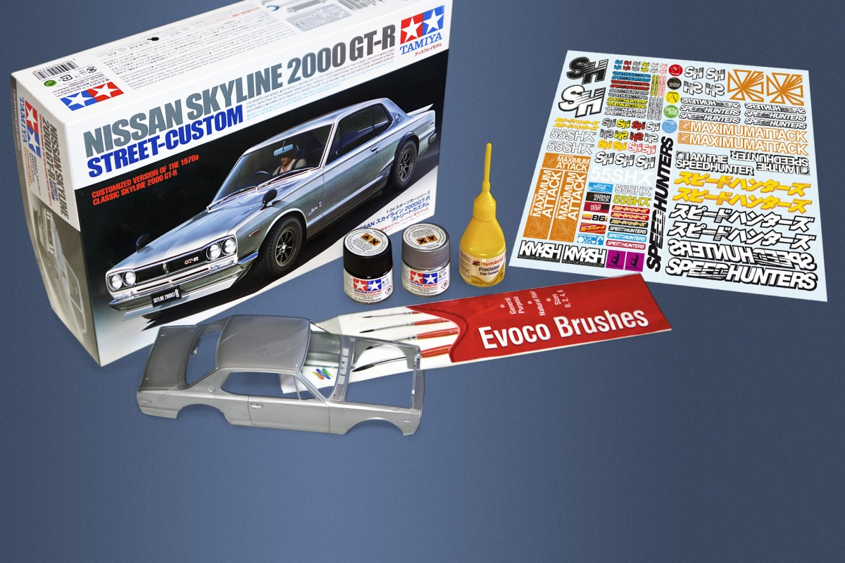 Scale Down, Kit Up: <br/>Skyline QuickStart Kit And RC Stickers