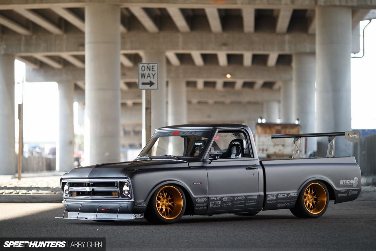 C 10r The Chevy With A Hint Of Zonda Speedhunters 1968 C10 Suspension Larry Chen C10r Protouring 32