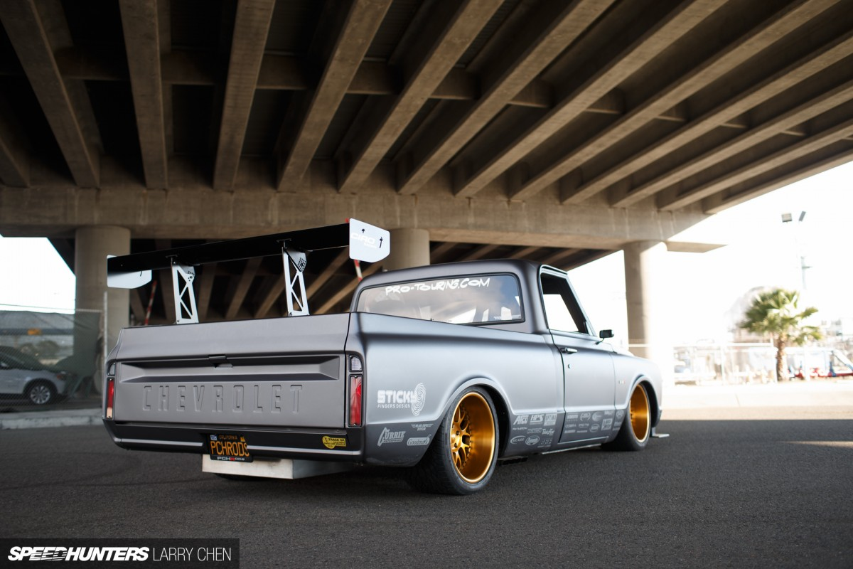C 10r The Chevy With A Hint Of Zonda Speedhunters 1968 C10 Suspension Larry Chen C10r Protouring 34
