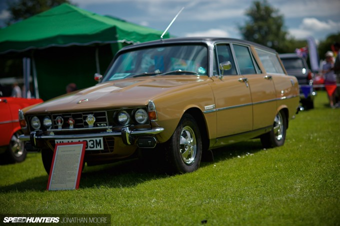 The 2014 edition of the Bromley Pageant Of Motoring, an annual national car show held in Norman Park
