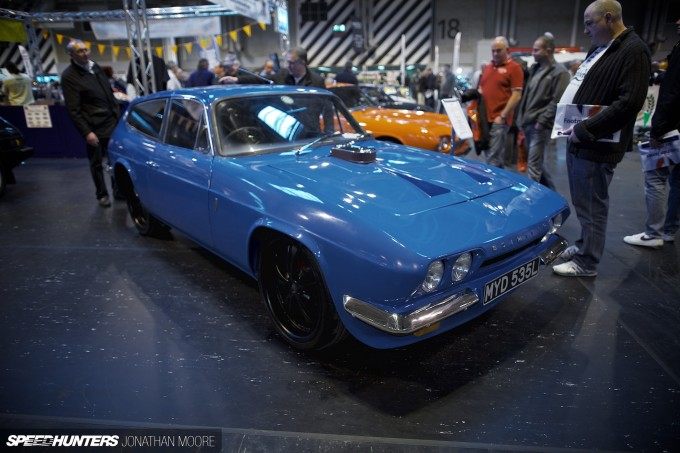 The 2012 Classic Motor Show at the Birmingham National Exhibition Centre in the United Kingdom