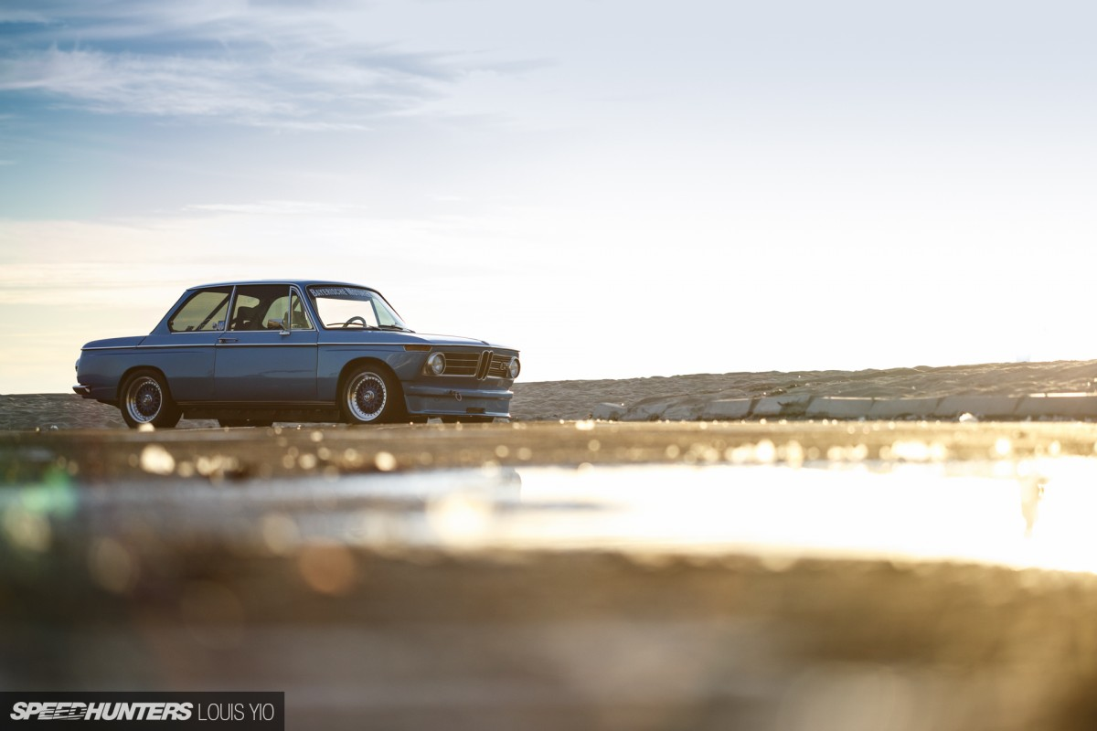 A BMW 2002 Honed In The Canyons
