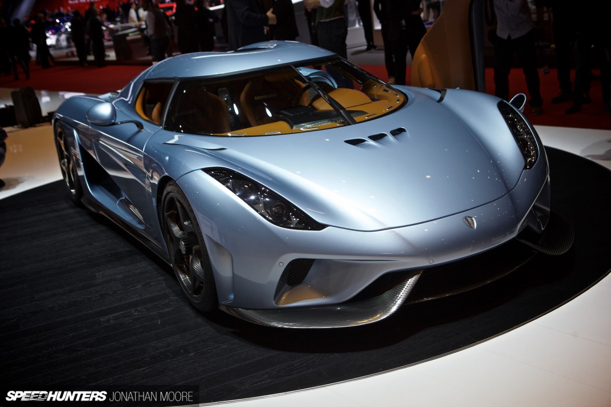 Direct Drive Into Orbit: <br/>Koenigsegg's Electrifying Regera