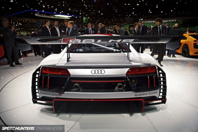 The 85th Geneva Salon International de l'Auto motor show, held at Palexpo, Switzerland