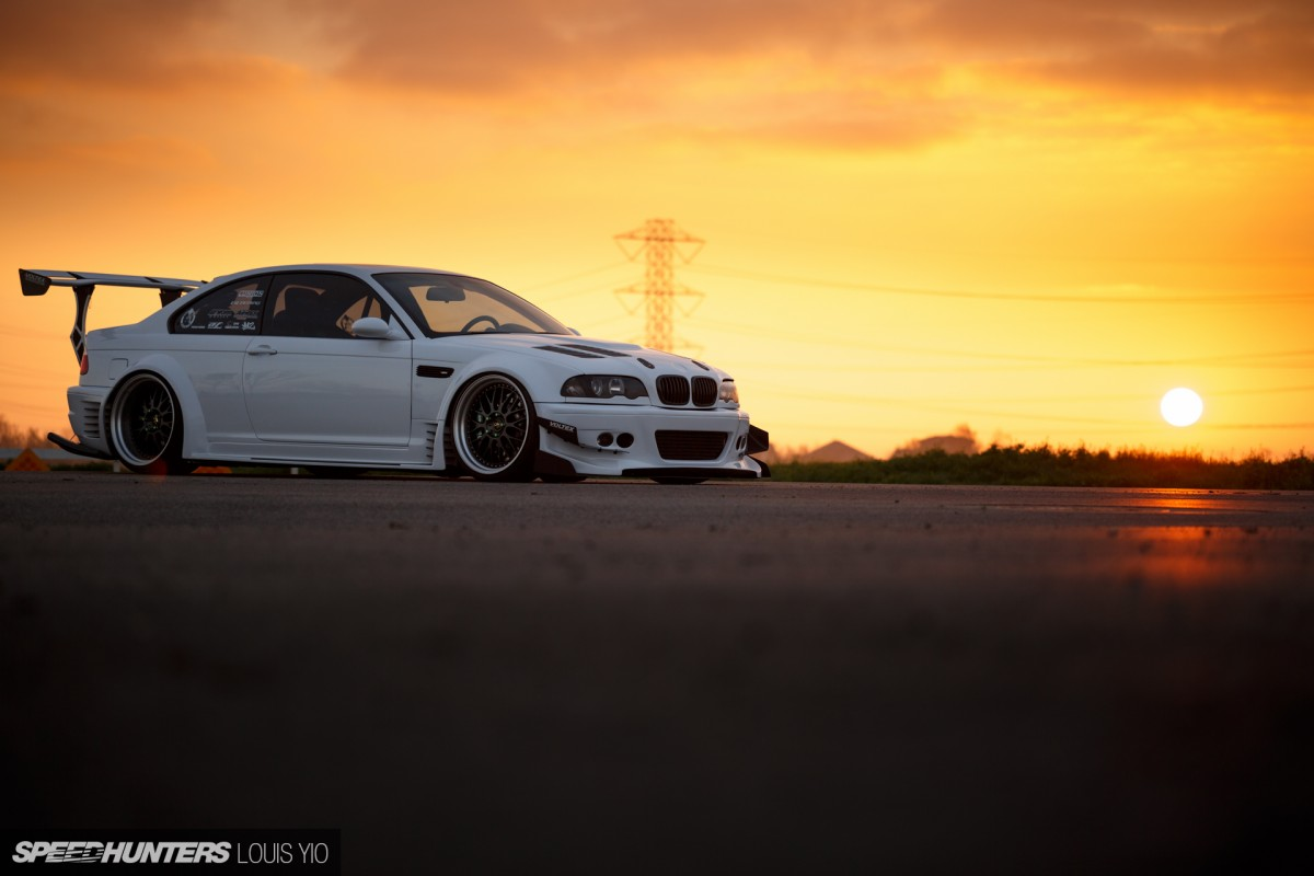 Do It Differently:</br> A Wide & Boosted E46