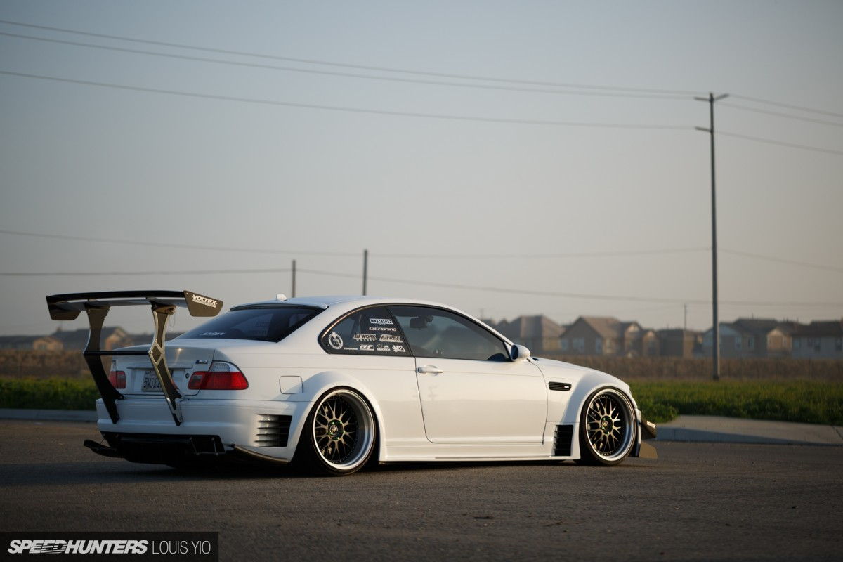 Do It Differently A Wide Amp Boosted E46 Speedhunters