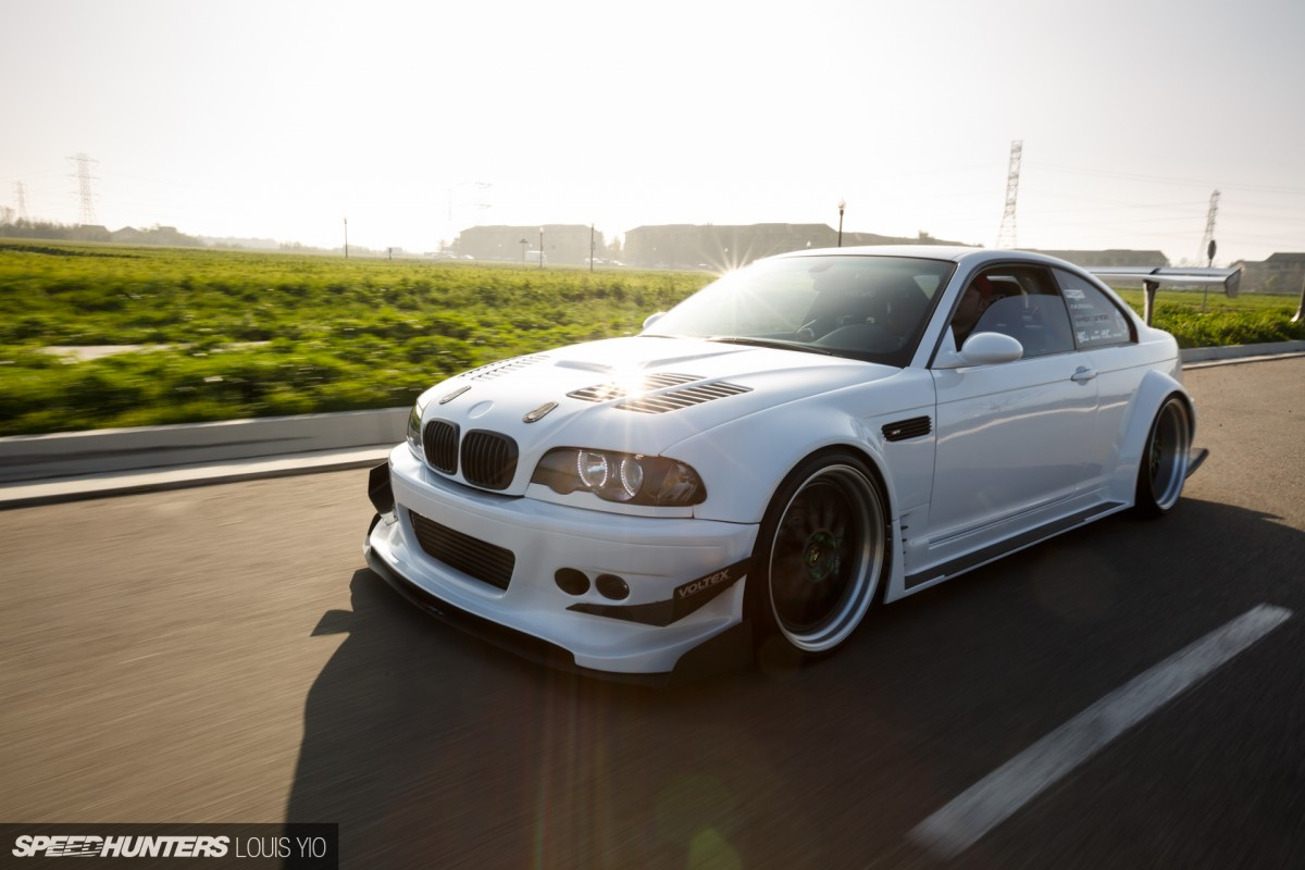 Do It Differently: A Wide & Boosted E46 - Sdhunters Bmw E Diions on