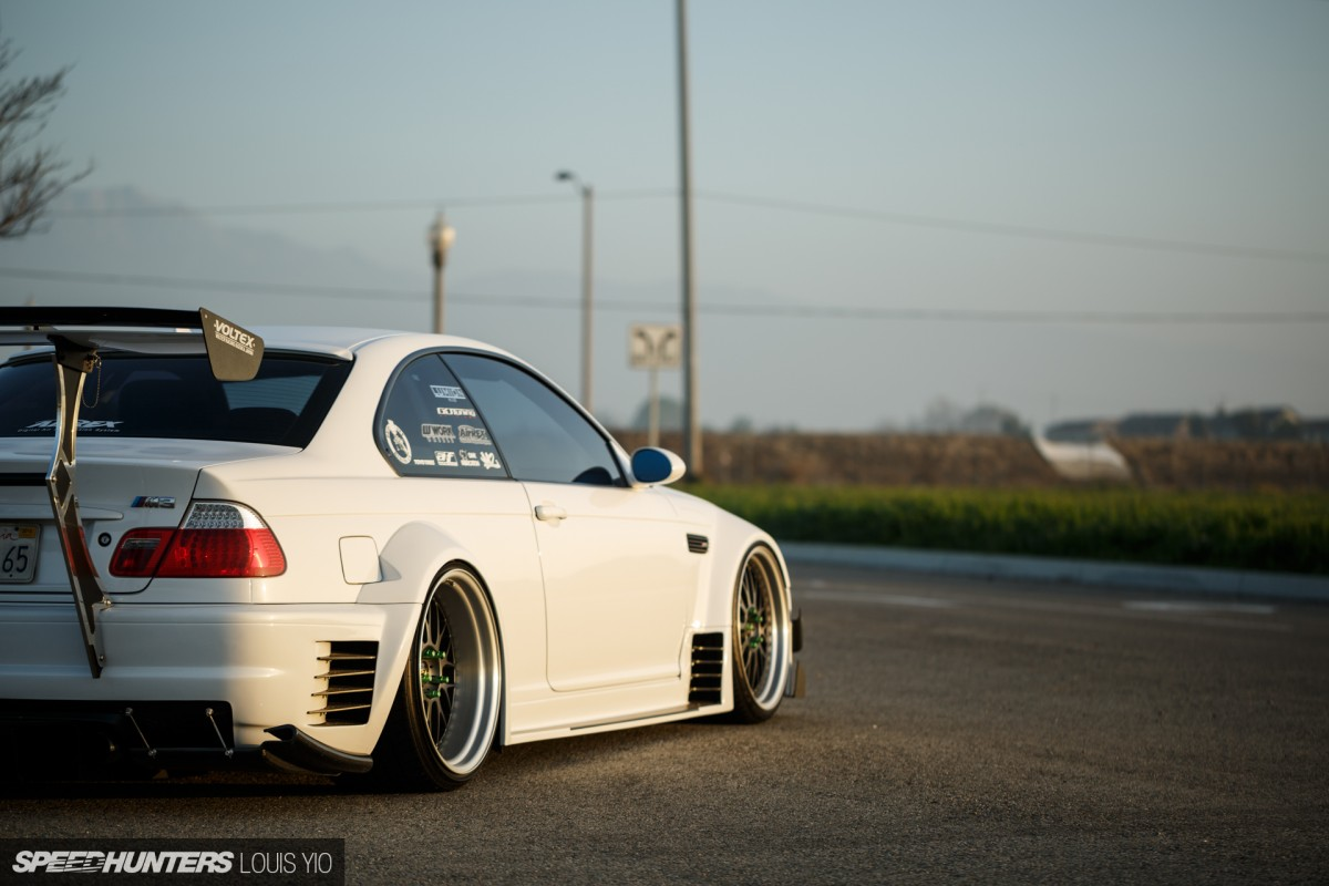 Do It Differently A Wide Boosted E46 Speedhunters