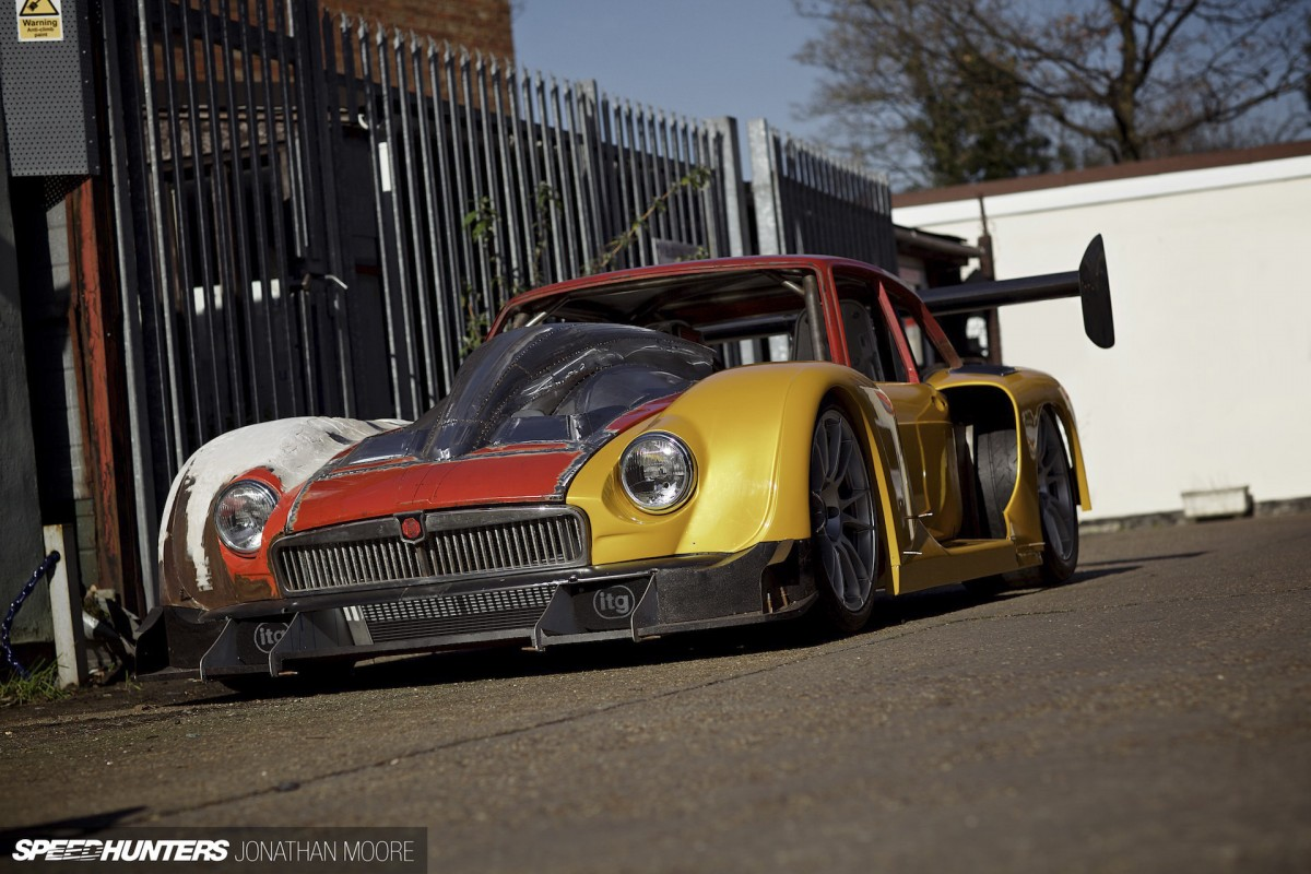 Thor's Hammer: <br/>The MG GT3's Accelerated&nbsp;Evolution