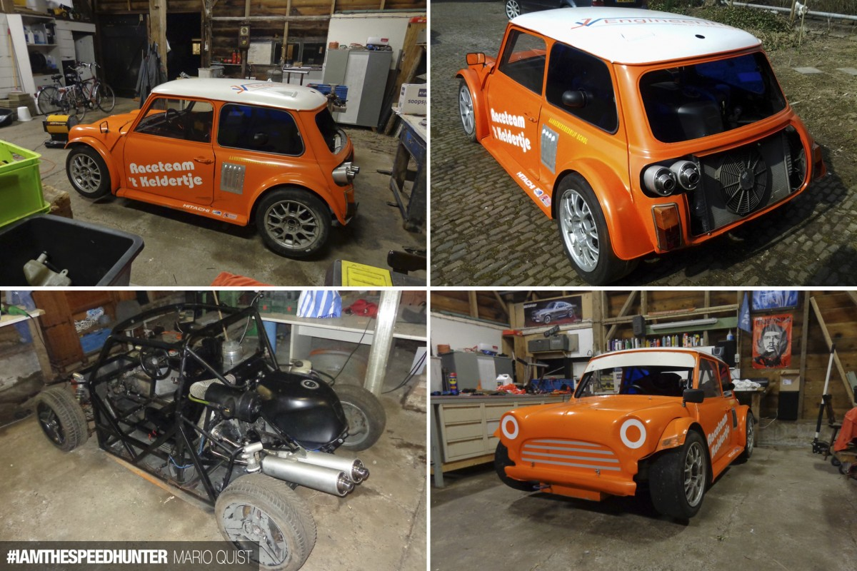 Fiat Engine Swap Fiat 126p Abarth Replica Engine First