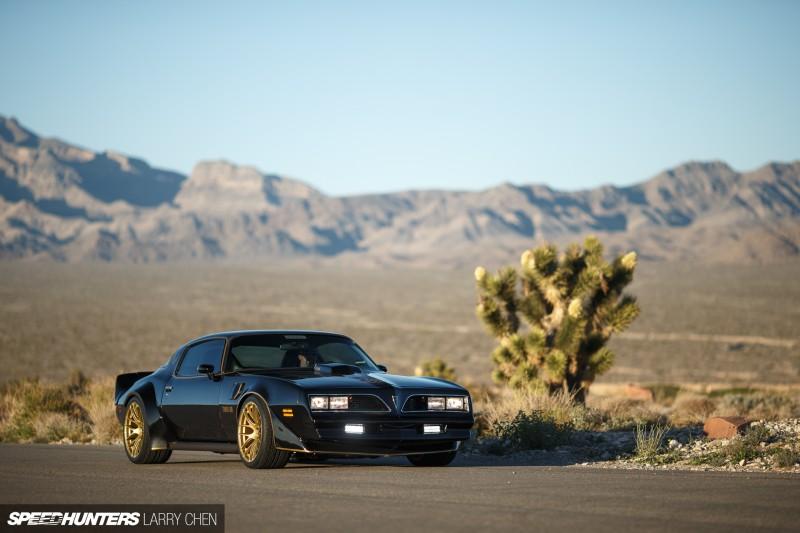 Larry Chen Speedhunters Hoonigan Trans Am Pontiac X on Xxr S Firebird