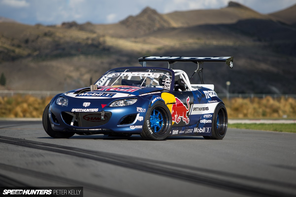 A Bull At The Gate:</br> Mad Mike's 26B-TT MX-5 Has Arrived