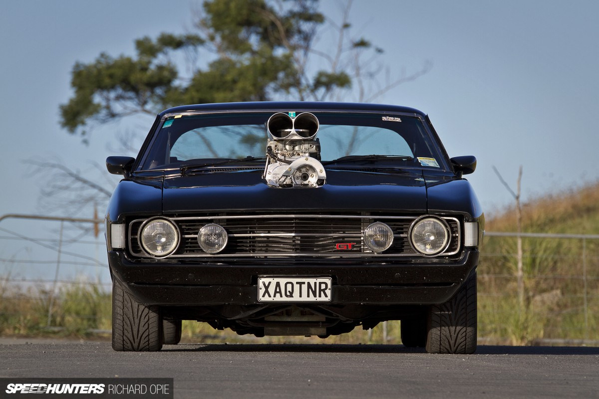 Even though the muscle car craze is most commonly associated with the United States across the globe in Australia Ford General Motors and Chrysler (the ... & Judge Jury Executioner: A Blown Big Block Falcon Hardtop ... markmcfarlin.com