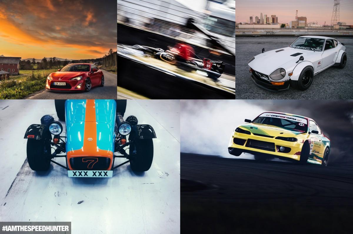 #YOUARETHESPEEDHUNTER:</br> 5 AutomotivePhotographers