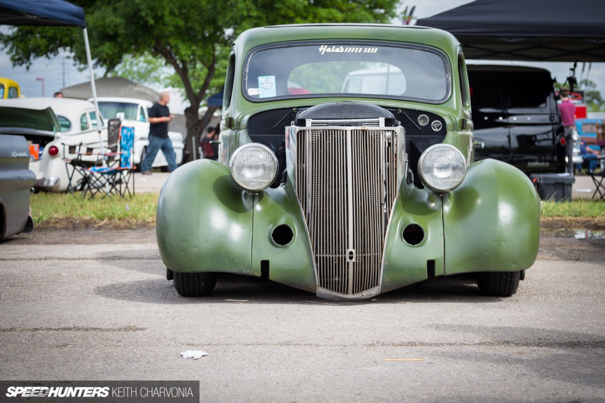 A '36 Ford With A Turbo In The Trunk