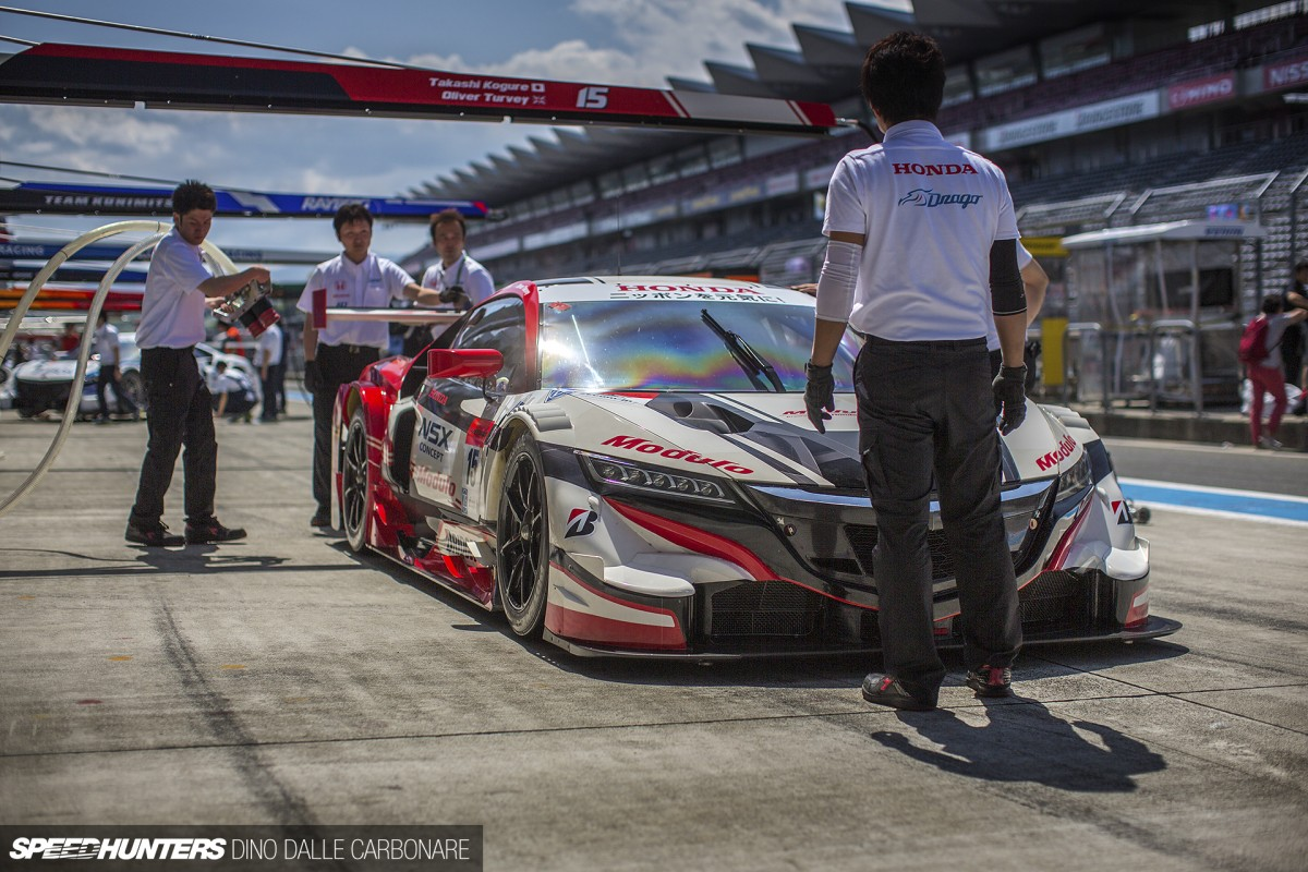 A Casual Pit Walk At Super GT