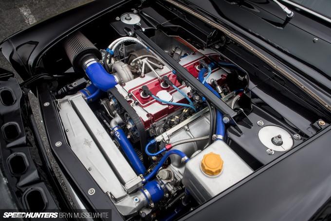 Old Skool Ford Fiesta 100E Cosworth Subaru Santa Pod (64 of 84)