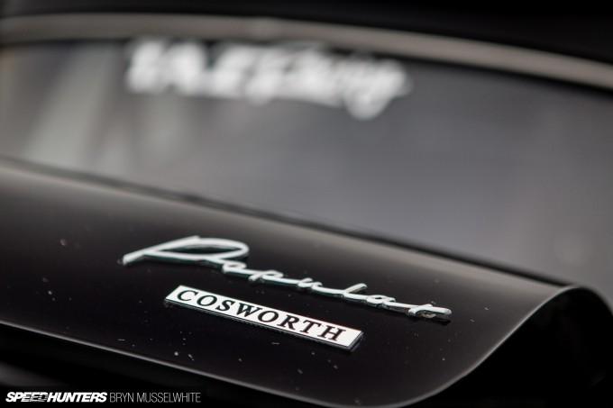 Old Skool Ford Fiesta 100E Cosworth Subaru Santa Pod (67 of 84)