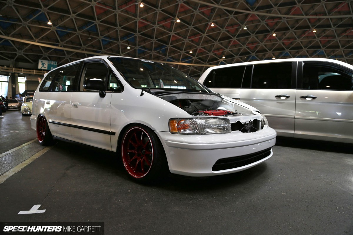 Meet the honda odyssey type r speedhunters for 1000hp honda odyssey