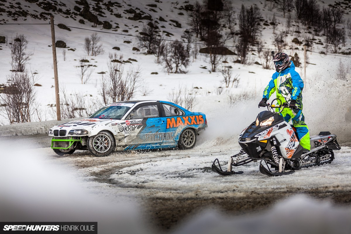 Frozen Sideways:</br> A Pre-Season Drift Climb