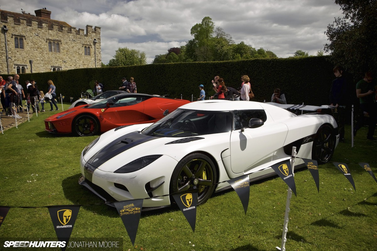 Under Siege: Supercars Storm The Castle